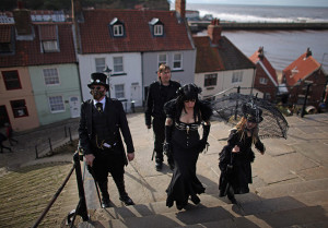 Gothic weekend in Whitby
